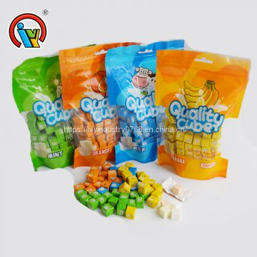 Africa Hot Sale Cube Cheese Milk Candy in Bag