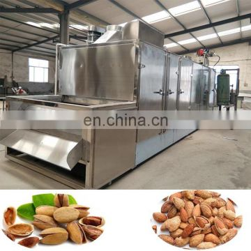 Continuous roaster for peanut,cashew nut,almond walnuthine