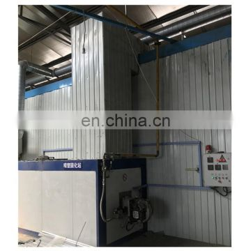 Automatic powder coating booth for aluminium profiles 1.3