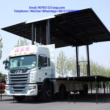 9.6 m  led advertising vehicleled stage truck