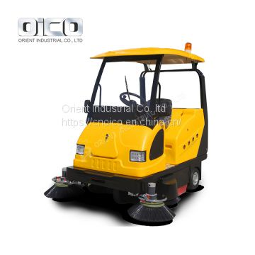 OR-E800W parking garage sweeper /electric sidewalk sweeper