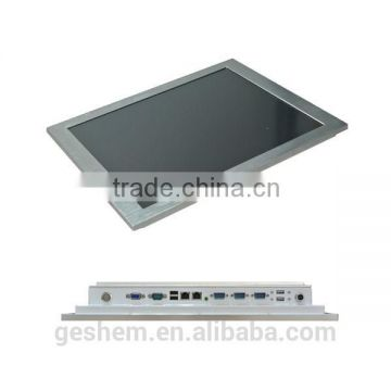 lower power consumption fanless industrial panel computer