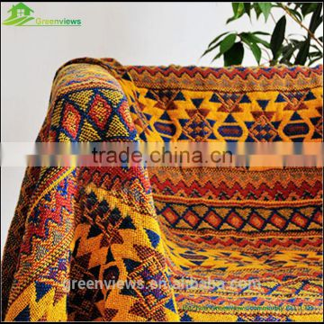 Thick cotton coarse thread blanket cover blanket carpet sofa towel National Custom embroidered Blanket
