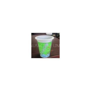360ml Smoothie Disposable Plastic Cups , Eco Friendly Yogurt Cups