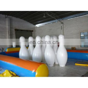 Inflatable bowling game