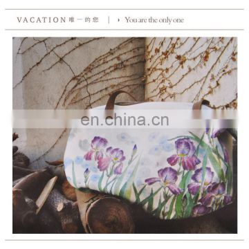 Fresh print design tote canvas bag tarpaulin bag carrier bag