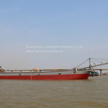 High Quality 2600T Inland Self-Unloading Sand Ship