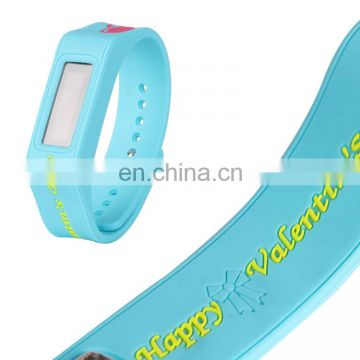 Best-Selling Customized Logo And Color Wholesale Eco-Friendly Ladies Silicone Watch