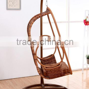 Fashion modeling outdoor swing