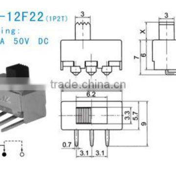 SS-12F22 slide switch