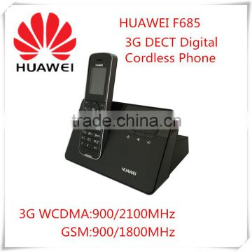 Corldess DECT Desktop Phone Huawei F685 Unlocked New 3G WCDMA GSM With Base