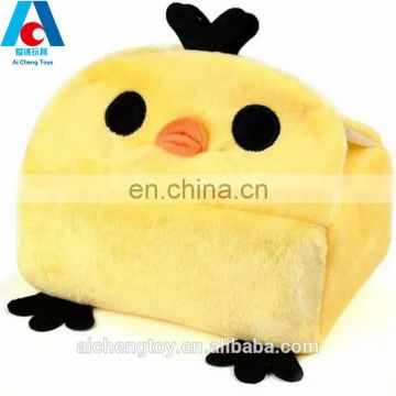 factory wholesale price creative cute kid plush animal bear tissue box