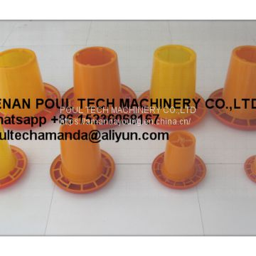 United States Poultry Farm Orange Plastic Chicken Feeder & Chicks Feeder Tray & Small Chicks FeedingTray & Feeding Pan in Chicken Coop