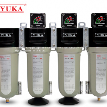 Compressed Air Precision Filtration Purification Filter for Automation Cosmetic,Blowing Molding Spraying DT Series