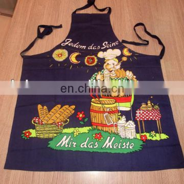 wholesale cotton kitchen apron