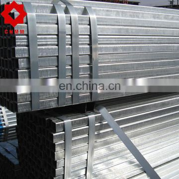 setel pipe galvanized structure steel gi square tube rectangular hollow section