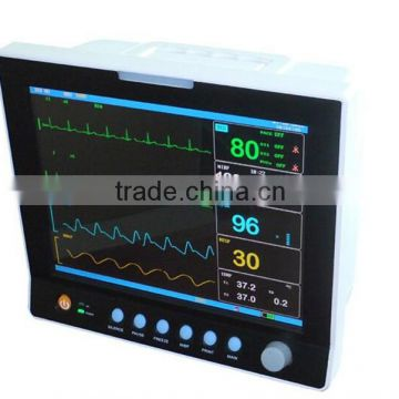 12 1 inch multi parameter holter monitor spo2 ecg etco2 as good as