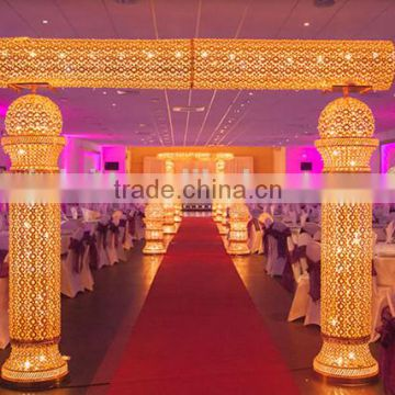 New Hot Fashion Stage Decoration Backdrop Design Sample Church