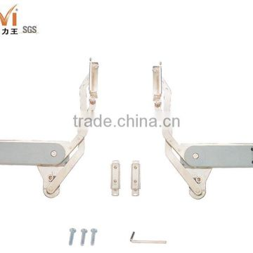 Vertical Swing Door Lift Up Stay Hinge Mechanism For Cabinet Door Of