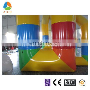 2016 new style colorful bouncy arch for sale/inflatable arch for opening ceremony