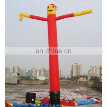 inflatable 1-leg advertising sky dancer, dancing air puppet with blower