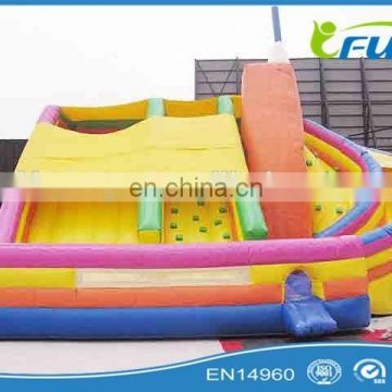 large colorful inflatable slide commercial inflatable slide