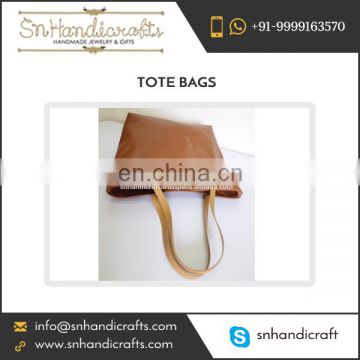 Popular in Demand Vegan Leather Tote Bag with Leather Straps