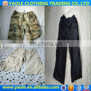 New Mens Trousers Used Shorts Cargo Pants