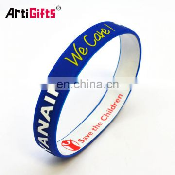 New promotional products custom wrist band any design made in china merchandise