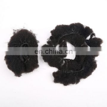 6A Unprocessed Afro Kinky Curly 100% Indian Human Hair Extensions