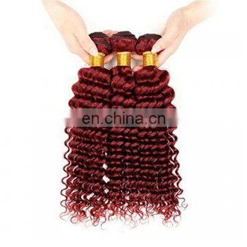 Deep Wave virgin hair extension red hair best virgin hair vendors