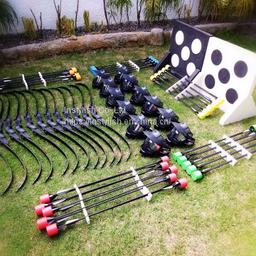 Wholesale Inflatable Archery Arrows Equipment Set, Archery Tag, Bow And Arrow