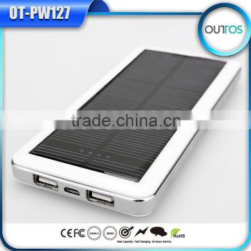 Cheap Goods from China Logo USB Portable Solar Charger for Mobile Phone Samsung Xiaomi
