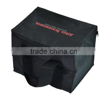 High quality disposable black cooler bag