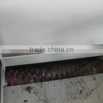heavy duty waste plastic single shaft shredder machine