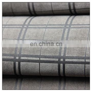 check design flame retardant textile industry 100 cotton twill flocked fabirc