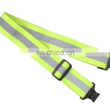 Promotion Gifts High Quality Adjustable Safety Waist Belt With Reflective Tape