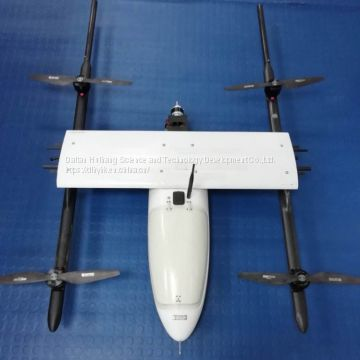 Durable and Easy Maintainable Electric Powered RTK Embedded Fixed Wing UAV Mapping Drone UAV Survey Drone for Sale