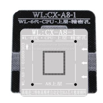 0.1mm BGA Reballing Stencil For iPhone 5-7P Baseband Positioning Mold