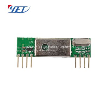 YET210 433mhz 1527 Learning Code Wireless Transmitter and Receiver Module for PCB