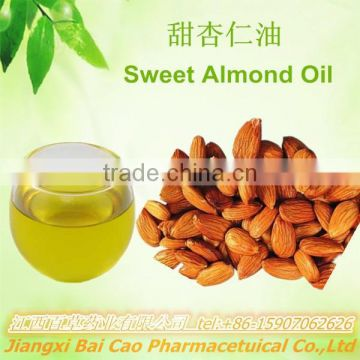 factory wholesale brands almond oil/pure sweet almond oil