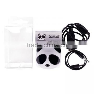 Panda Stereo Speaker for MP3 Player iPod mobile phone