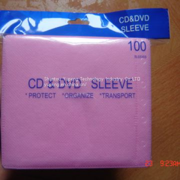 dvd cd Sleeve cd sleeve dvd sleeves blank dvd cd sleeves with adheresive for 2 discs good quality wholesale cheap price