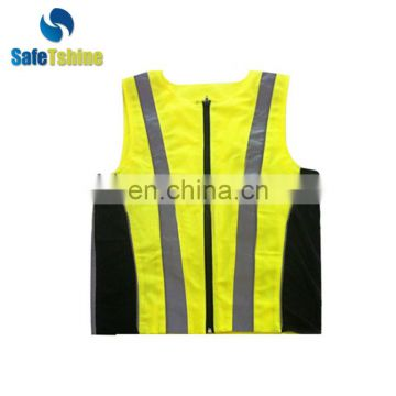 High visiblity reflective summer safety running vest