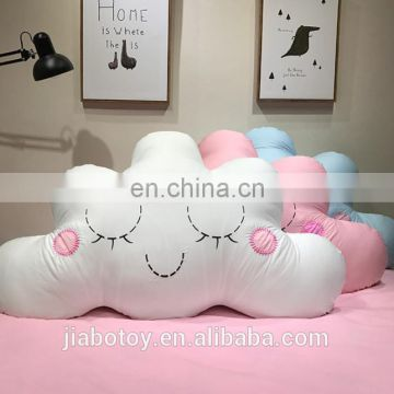 Cloud shaped decorative felt cushions