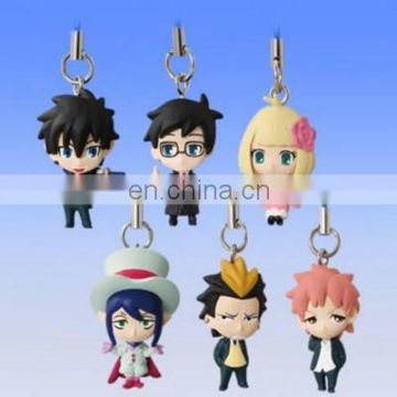 Newest various occupations figurines keychain