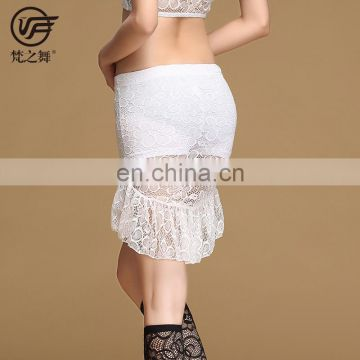 Q-6059 Egyption sexy lace short belly dance skirt