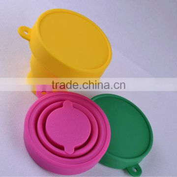 Popular porcelain drinking silicone cup with lid foldable mugs and cups convenient cups mugs
