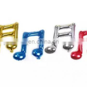 Wedding decoration 16 inch Musical Note foil balloon corlorful Balloons