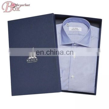 Luxury Accept Custom Design T-shirt Cardboard Box with Lid